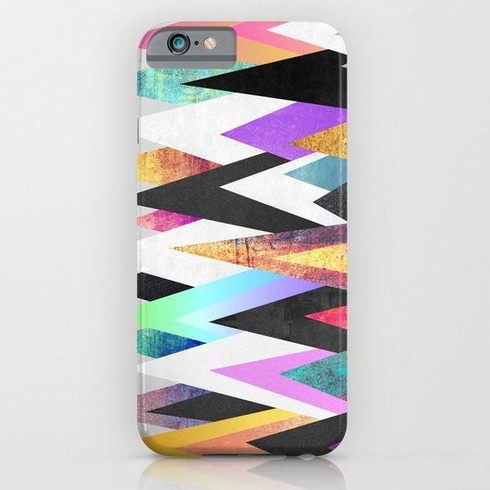 Colorful Peaks iPhone & iPod Case