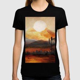 Desert in the Golden Sun Glow T-shirt