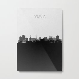 City Skylines: Samara Metal Print