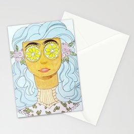 Lemon Eyes Stationery Cards