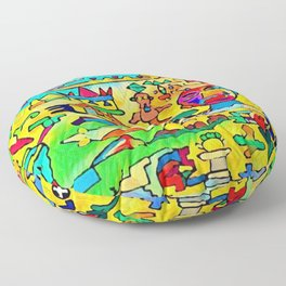 The pacifist Floor Pillow