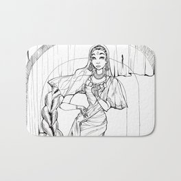 Saree Bath Mat
