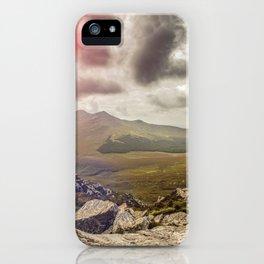 Ireland Mountain Landscape Panorama iPhone Case