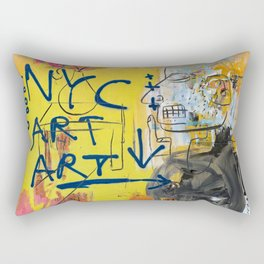 NYC Art Art Rectangular Pillow