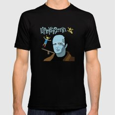 Young Frankenstein Mens Fitted Tee Black LARGE