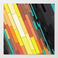 Revenge of the Rectangles I Canvas Print