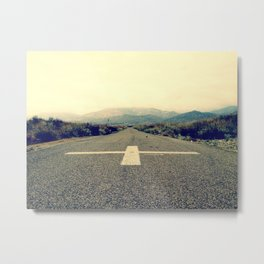 The Road to Freedom Metal Print
