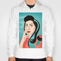 ali gulec Hoodies featuring Ali by AvalonClare