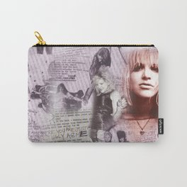 Courtney Zine Style Art Carry-All Pouch