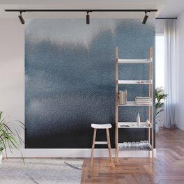 In Blue Wall Mural