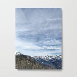 Sierra Nevada Sky Metal Print