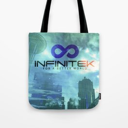 Space Needle - Infinitek Headquarters Seattle Tote Bag
