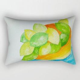 Lime Bowl Rectangular Pillow
