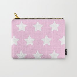 Pastel pink stars Carry-All Pouch