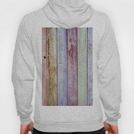 Color Wood Boards Hoody