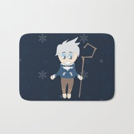 Snowballs and fun times Bath Mat