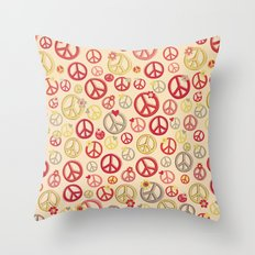 Love and Peace to you , Brother Throw Pillow