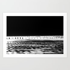 The Out-going Tide Art Print