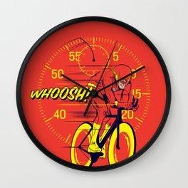 Whoosh! Wall Clock