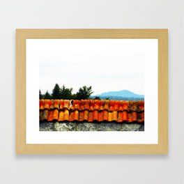 Gateway to the Past Framed Art Print