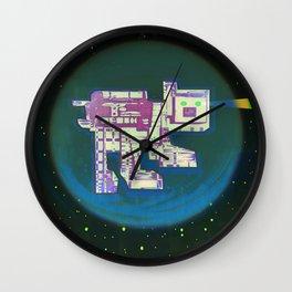 Spatial Bot Dog Wall Clock
