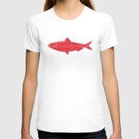 swedish T-shirts featuring Swedish Fish by Chase Kunz