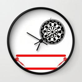 Darts Dartboard Arrows Players Target Sports  Gift Wall Clock