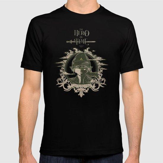 Legend of Zelda Link the Hero of Time Vintage Book Cover T-shirt