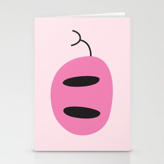 Happy Pig Minimalist Stationery Cards