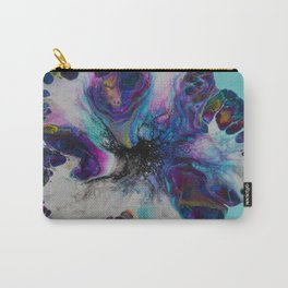 Galaxy Flower - Blue Carry-All Pouch