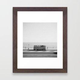 ROAD TRIP VII Framed Art Print