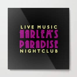 Nightclub Metal Print