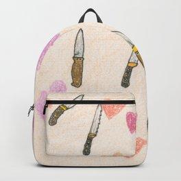 cute knifes Backpack