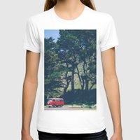 vw bus T-shirts featuring Cali VW Bus by Petrichor Photo