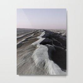 Wavy Strata  Metal Print