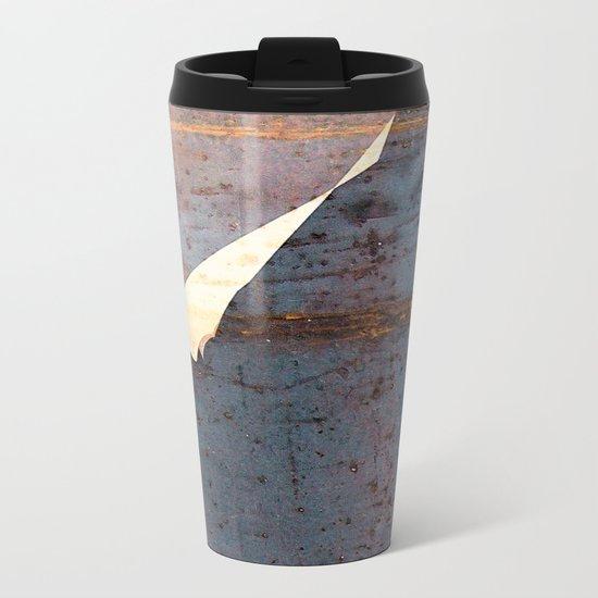overlaps III Metal Travel Mug