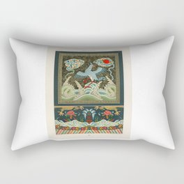 A very old Chinese artwork Rectangular Pillow