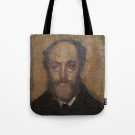 Portrait of the Art Critic Durand-Gréville Tote Bag