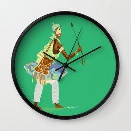 ORIXAS_ oxossi Wall Clock