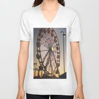 carnival V-neck T-shirts featuring Carnival by ChaileyCrowdis