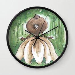 Empire of Mushrooms: Geastrum minimum Wall Clock