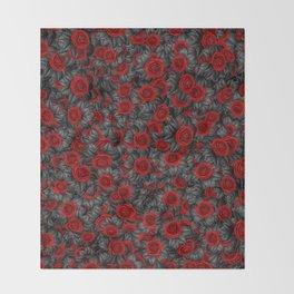 Rosa Sombra Throw Blanket