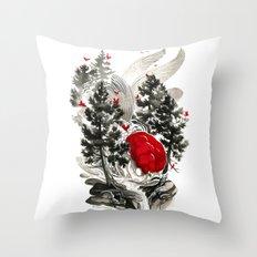 Oranda Throw Pillow