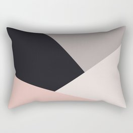 Elegant & colorful geometric Rectangular Pillow