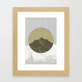 Lost Mountain Framed Art Print