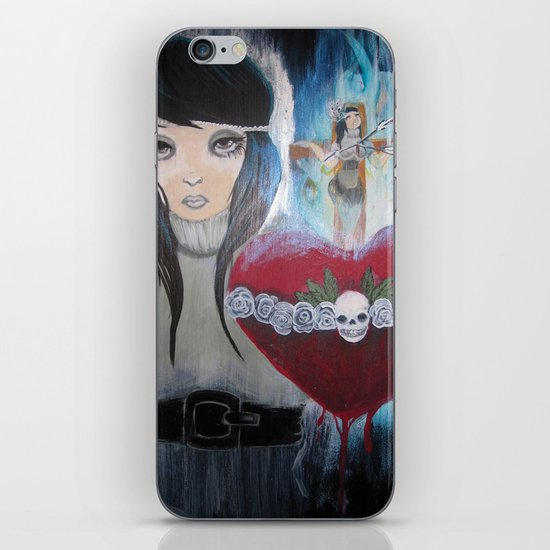 Water to the Flame iPhone & iPod Skin