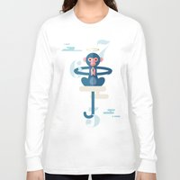 pixies Long Sleeve T-shirts featuring Monkey Gone to Heaven by DWatson