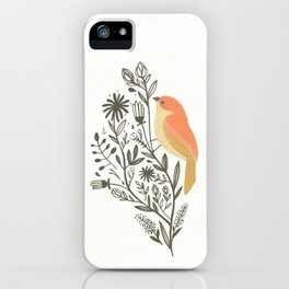 Birdie One iPhone Case