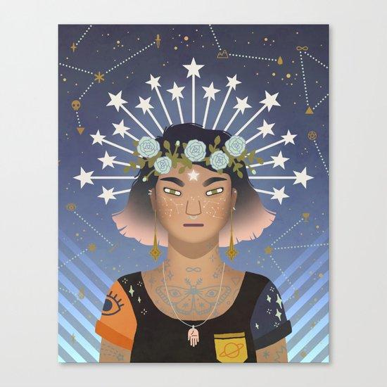 The Stars Canvas Print