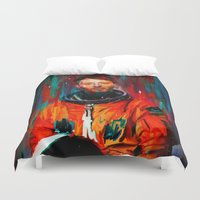 radiohead Duvet Covers featuring Thom Yorke by nicebleed
